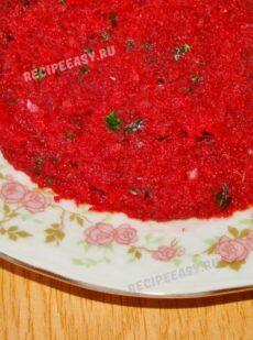 Фруктово-овощной салат, запеченный в духовке