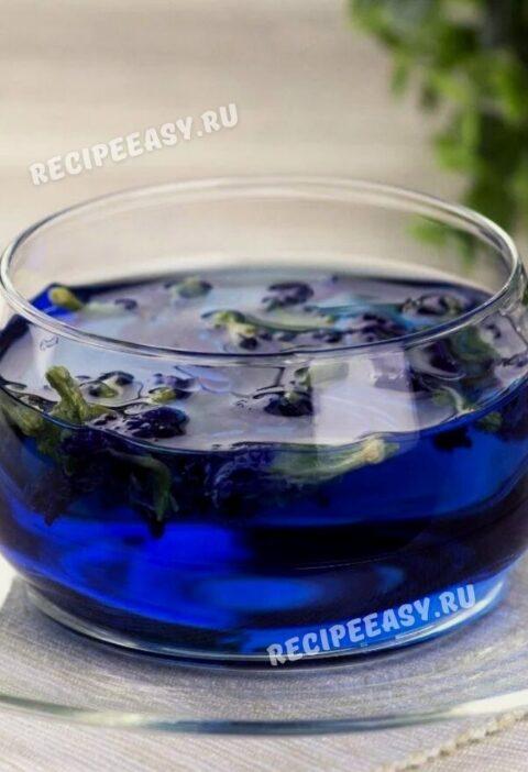 Тайский синий чай анчан и его свойства